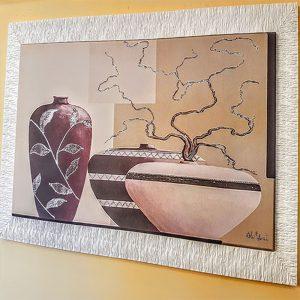 quadro vasi moderno