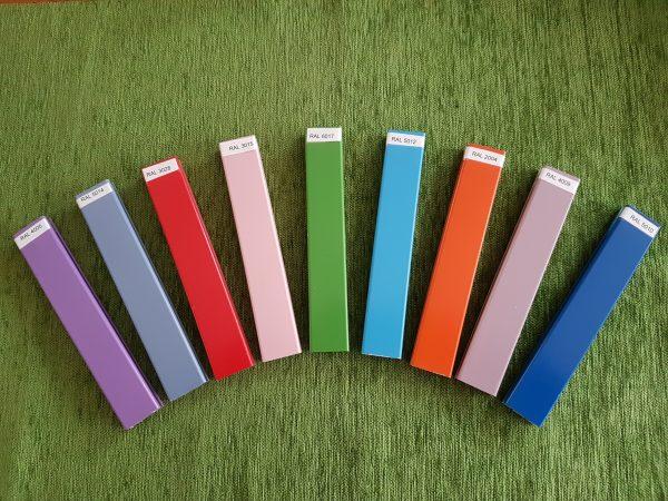 cartella colori binario moderno