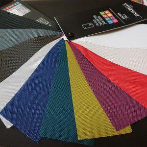 cartella colori bande ad onda
