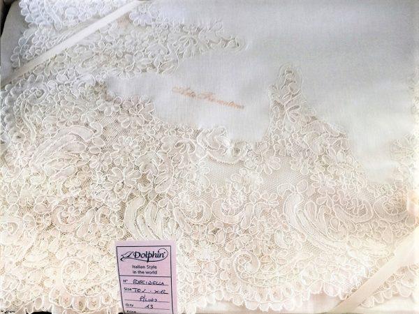 tovaglia reginella in puro lino rettangolare da 12