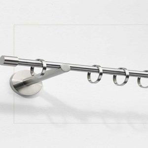 Bastone diametro 20 acciaio con anelli