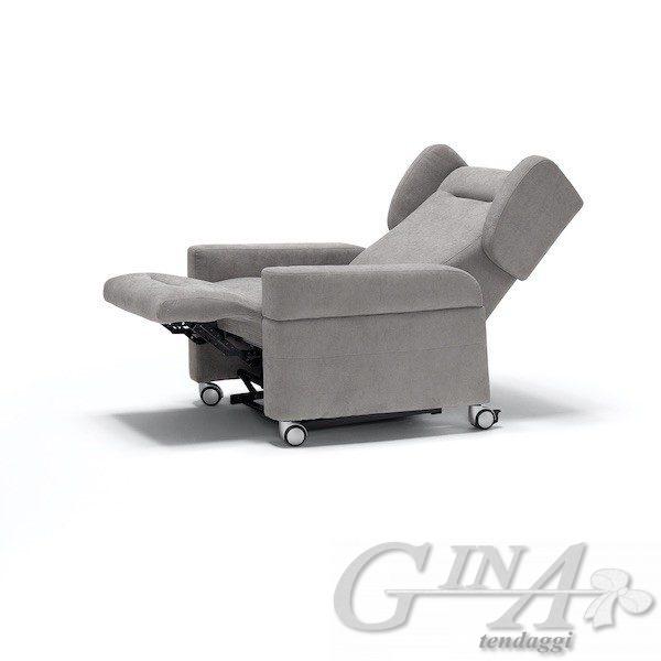 poltrona-relax-vita reclinabile con braccioli