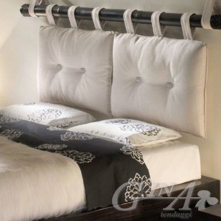 Cuscini imbottiti per Testata letto