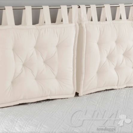 Cuscini imbottiti squadrati per Testata letto