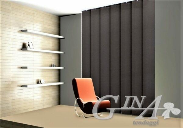 Tenda verticale con bande verticali da 250 mm